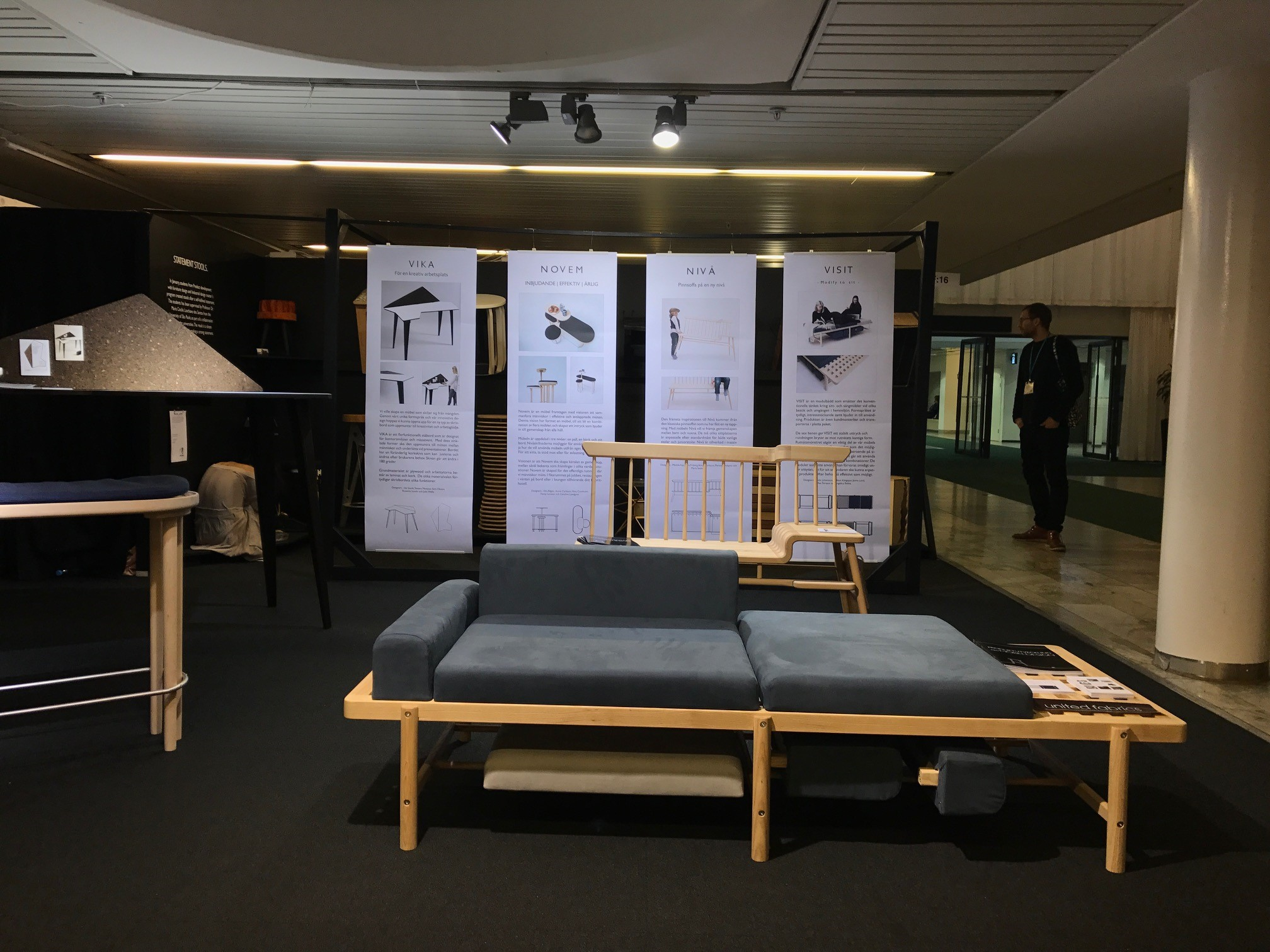 The Students Have Worked To Develop The Furniture They Are Now Exhibiting  During A Longer Project Period. Their Self Designed Furniture Has Been  Developed ...