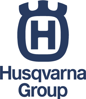 Logotyp Husqvarna group