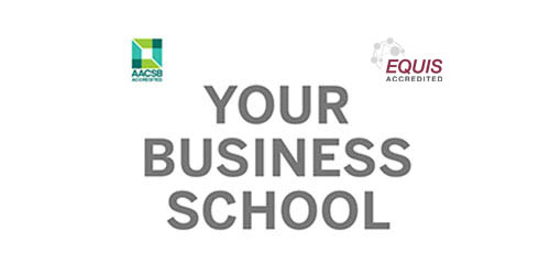 Text: Your business school
