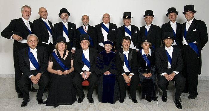 Inaugurated professors 2008